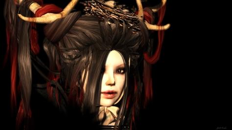 Forest Spiritin Black