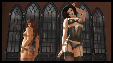 Girls in lingerie